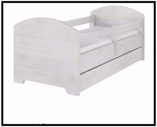 Obrázek Dětská postel jednobarevná 160x80 cm