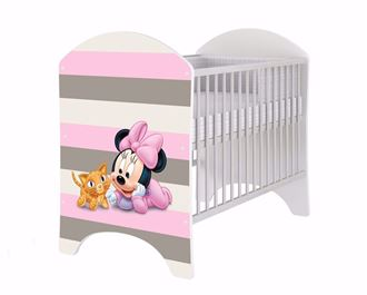 Obrázek z Disney dětská postýlka Minnie Baby