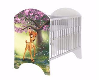Obrázek z Disney dětská postýlka Bambi Natural