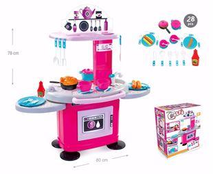 Obrázek Dětská kuchyňka s poličkami