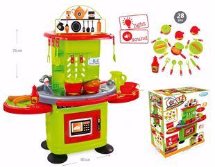 Obrázek Dětská kuchyňka s elektronikou