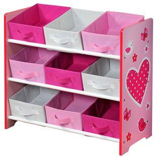 Obrázek Organizer na hračky růžový