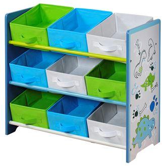 Obrázek z Organizer na hračky Dino