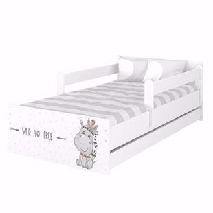 Obrázek Dětská postel Max XXL Hrošík 200x90 cm