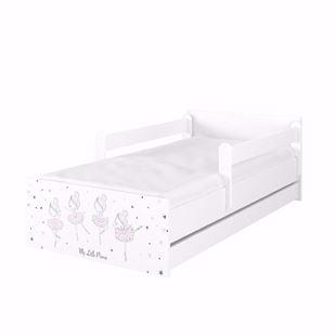 Obrázek Dětská postel Max XXL Baletka 200x90 cm