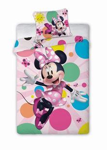 Obrázek Dětské povlečení Myška Minnie 140x200 cm