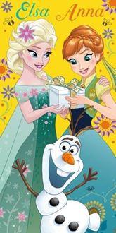 Obrázek z Dětská osuška Anna a Elsa 140x70 cm
