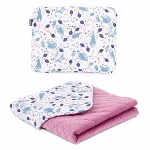 Obrázek Dětská deka s polštářem Volavky Velvet Premium 75x100 cm - různé varianty