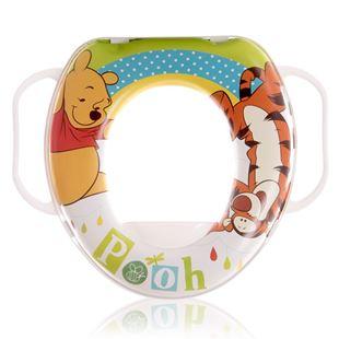 Obrázek Dětské sedátko na WC Lorelli SOFT Medvídek Bílá