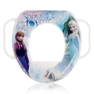 Obrázek Dětské sedátko na WC SOFT Frozen Bílá