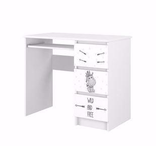 Obrázek Psací stůl Hrošík se zásuvkami