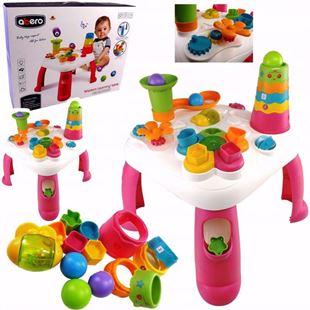 Obrázek Dětský interaktivní stoleček s pyramidou