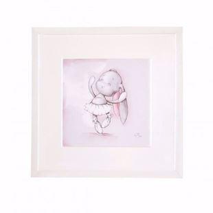 Obrázek Obrázek Tančící balerína - růžová