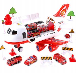 Obrázek Letadlo s příslušenstvím - Červená