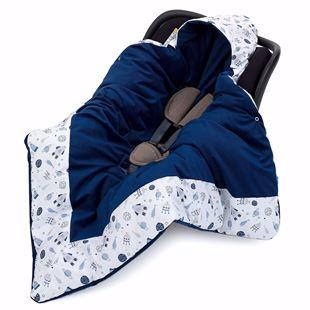 Obrázek Zavinovací deka s kapucí Vesmír