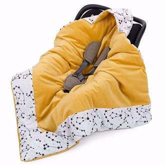 Obrázek z Zavinovací deka s kapucí Konstalace