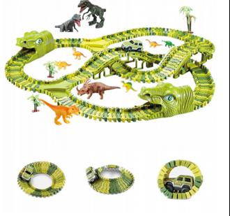 Obrázek z Dětská autodráha 360 cm Dino