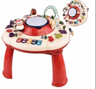 Obrázek z Dětský interaktivní stoleček s bubínkem