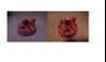 Obrázek z Narozeninový dort na krájení s Medvídkem Růžová