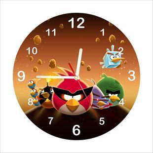 Obrázek Dětské hodiny Angry Birds