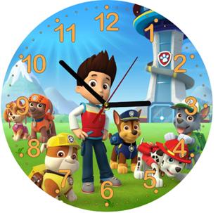 Obrázek Dětské hodiny Tlapková Patrola