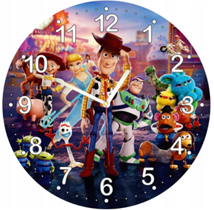 Obrázek Dětské hodiny Příběh hraček