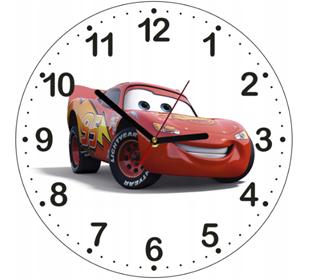 Obrázek Dětské hodiny Auta