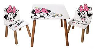 Obrázek Dětský stůl s židlemi Minnie Mouse