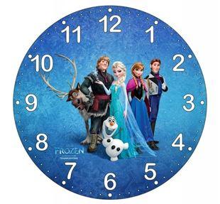 Obrázek Dětské hodiny Ledové království
