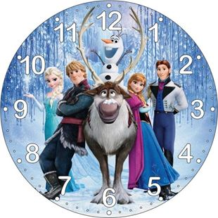 Obrázek Dětské hodiny Frozen
