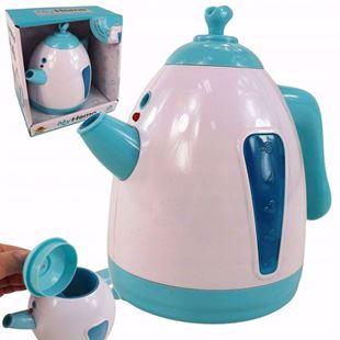 Obrázek Dětská elektrická konvice / čajník Tyrkysová