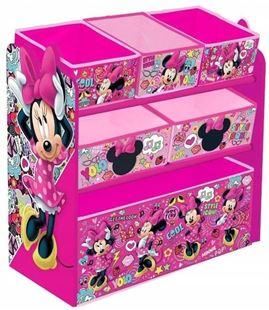 Obrázek Organizér na hračky Myška Minnie - růžová