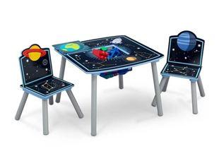 Obrázek Dětský stůl s židlemi Vesmír