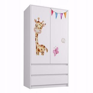 Obrázek Šatní skříň Žirafka