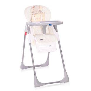 Obrázek Jídelní židlička CRYSPI GREY ELEPHANT