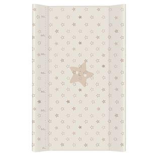 Obrázek Přebalovací podložka Lorelli tvrdá 50x80 cm STARS BEIGE