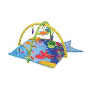 Obrázek Hrací deka s hrazdou OCEAN 115X115 cm