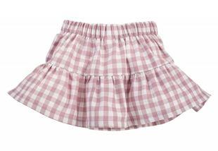 Obrázek Kostkovaná letní sukně Sweet Cherry - lila/bílá