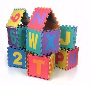 Obrázek Dětské pěnové puzzle 36 kusů