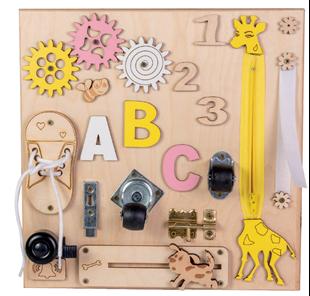 Obrázek Malá dětská tabulka vzdělávání a zábavy s Žirafkou