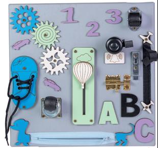 Obrázek Malá dětská tabulka vzdělávání a zábavy s Balónem